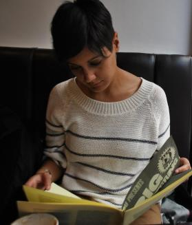 Reading Something